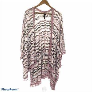 White House Black Market shawl style sweater